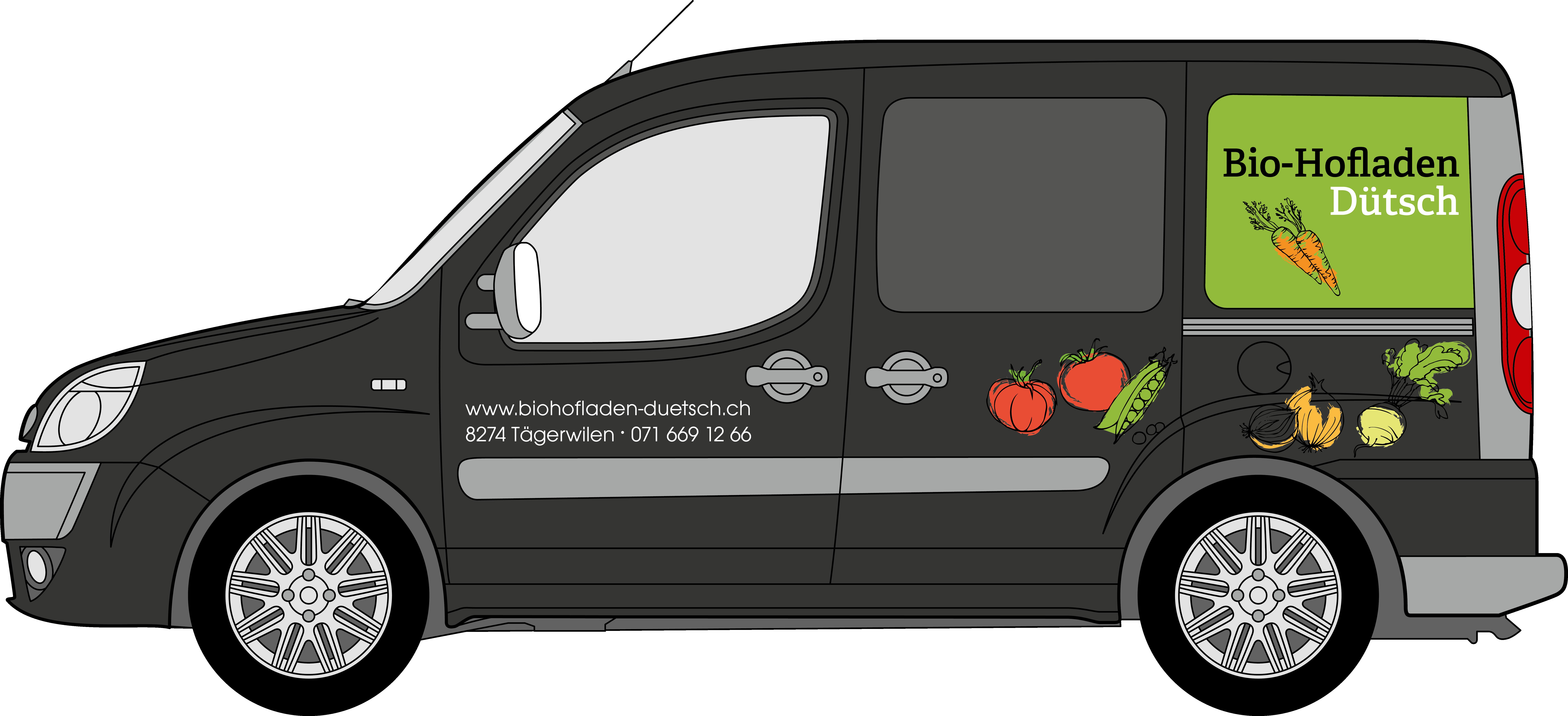 Fahrzeug Biohofladen Dütsch